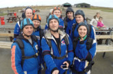 Abacus skydives raise £4,000