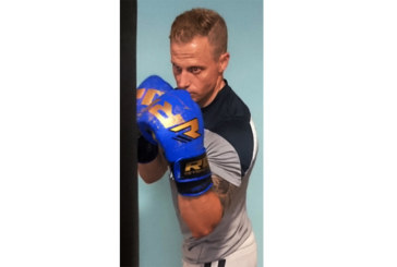 Ben boxing for charity