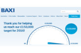 Baxi gives back to charity