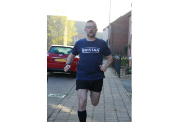 Bristan goes the extra 1000 miles for Simon's Heroes