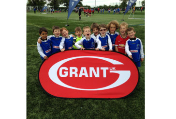 Grant UK supports local Youth Football Tournament