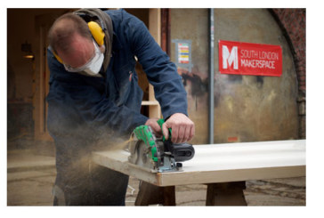 Hitachi donates power tools to South London Makerspace