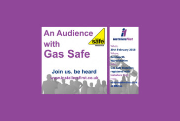 Installers First presents 'An Audience with Gas Safe'