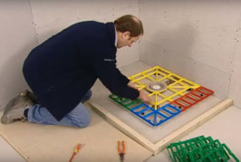 VIDEO GUIDE: How to hand screed a wetroom