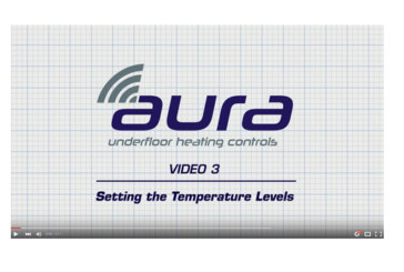 JG Aura heating controls installation videos now available