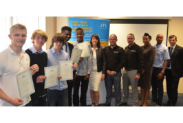 First trainees graduate from JTL course at Orpington