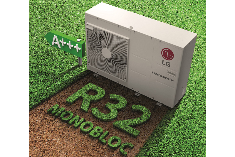 PRODUCT LAUNCH: LG Therma V R32 AWHP
