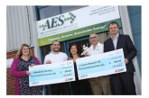 Charities benefit after Hampshire firm wins award