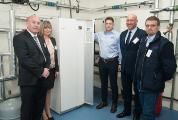 South Lanarkshire College goes low-carbon with NIBE