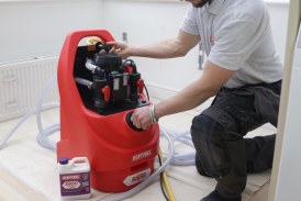VIDEO GUIDE: Powerflushing a central heating system