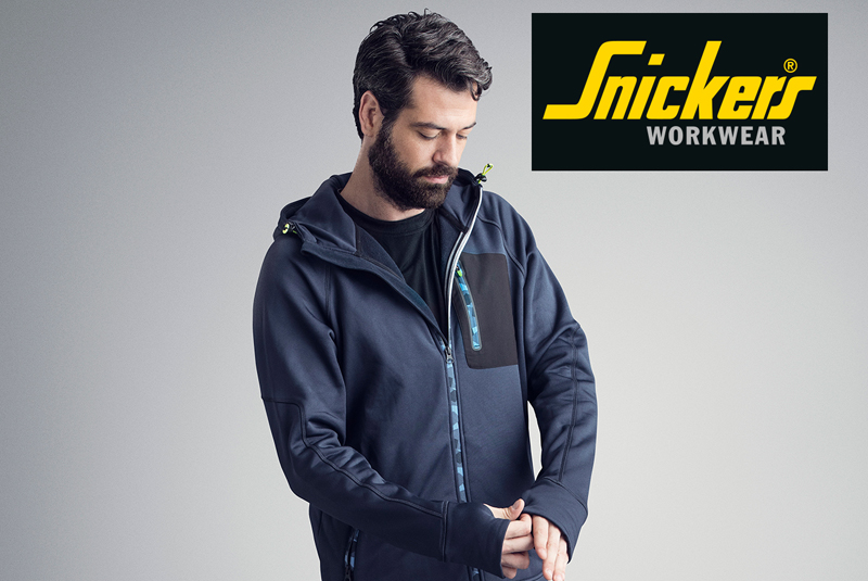 GIVEAWAY: Snickers FlexiWork Stretch Hoodies