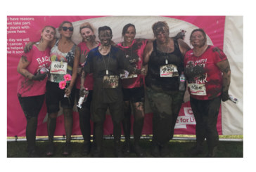 Swale ladies take to the mud for charity