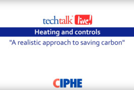 WATCH: CIPHE techtalk live with Worcester, Bosch Group
