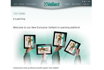 Vaillant launches e-Learning platform