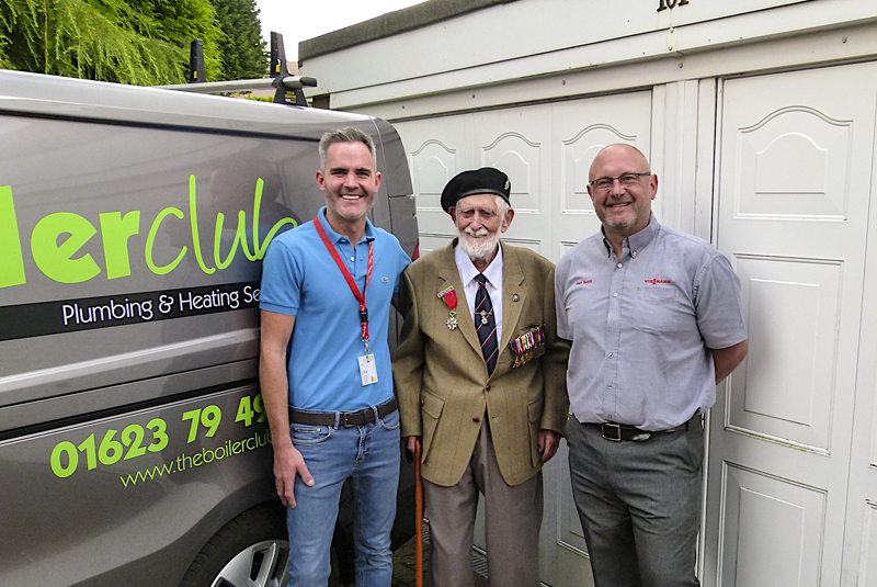 101-year old war hero takes out 10-year boiler warranty
