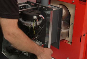 Grant UK Spira condensing biomass boiler