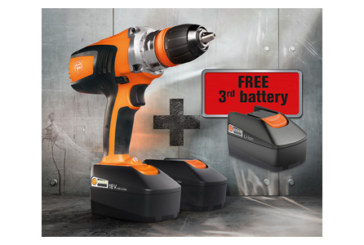 Non-stop power with FEIN's free battery promotion