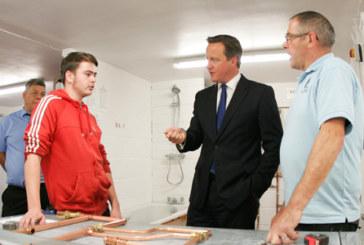 David Cameron opens BPEC accredited training centre