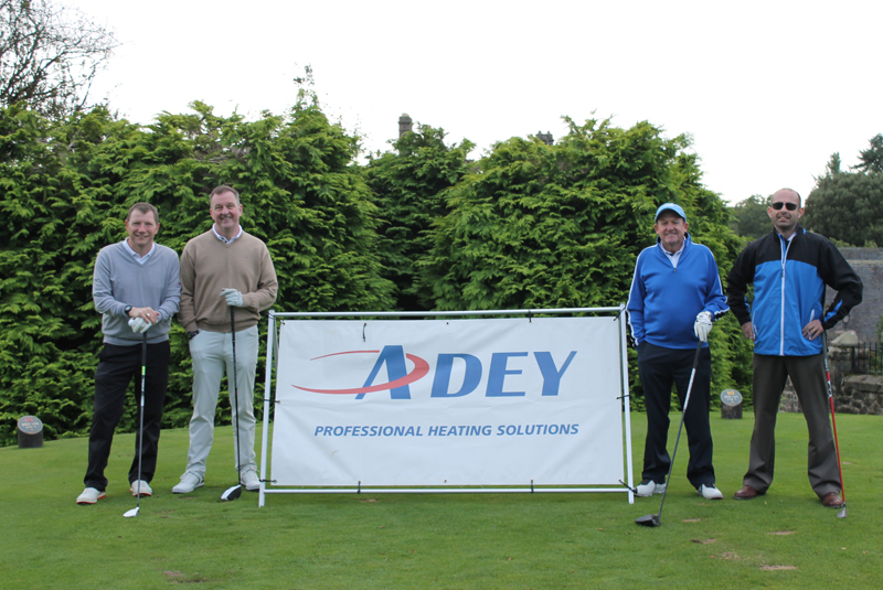 Adey golf day aids charity