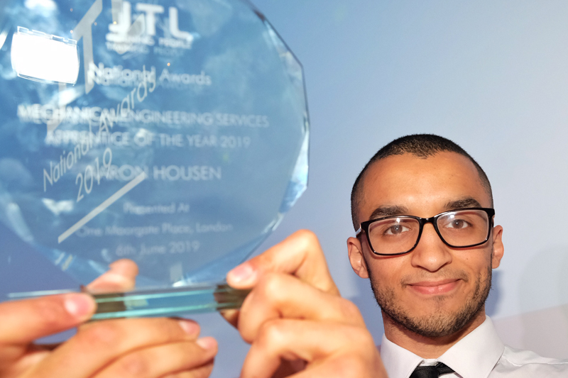 JTL's National MES Apprentice of the Year revealed