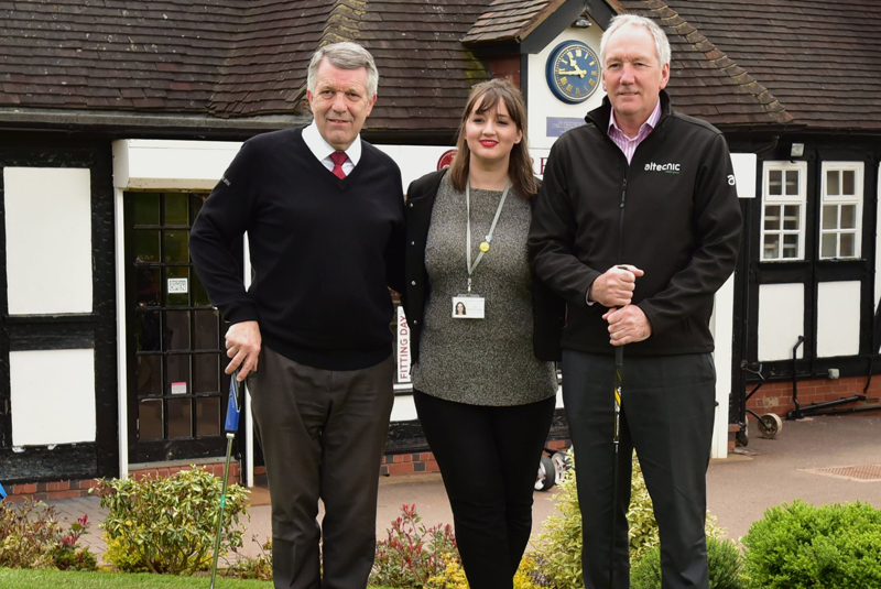 Altecnic sponsors hospice golf day for 10th year