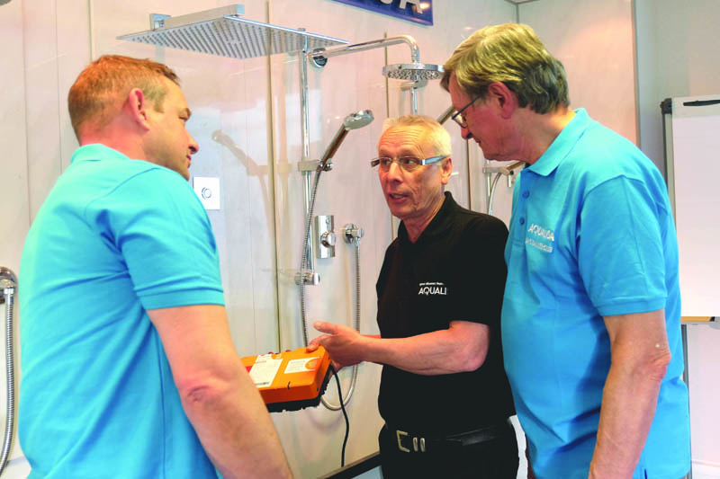 Aqualisa re-launches mixer shower training sessions