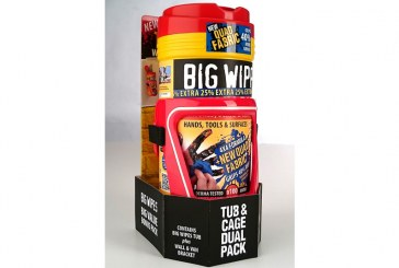 GIVEAWAY: Big Wipes Tub & Cage dual packs