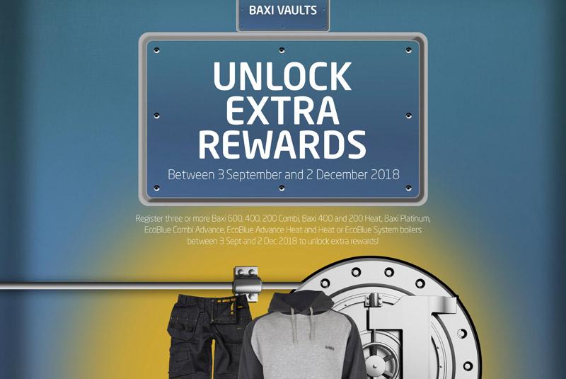Baxi launches Vaults promotion