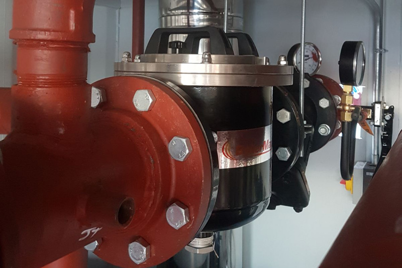 BoilerMag filters specified by heating firm