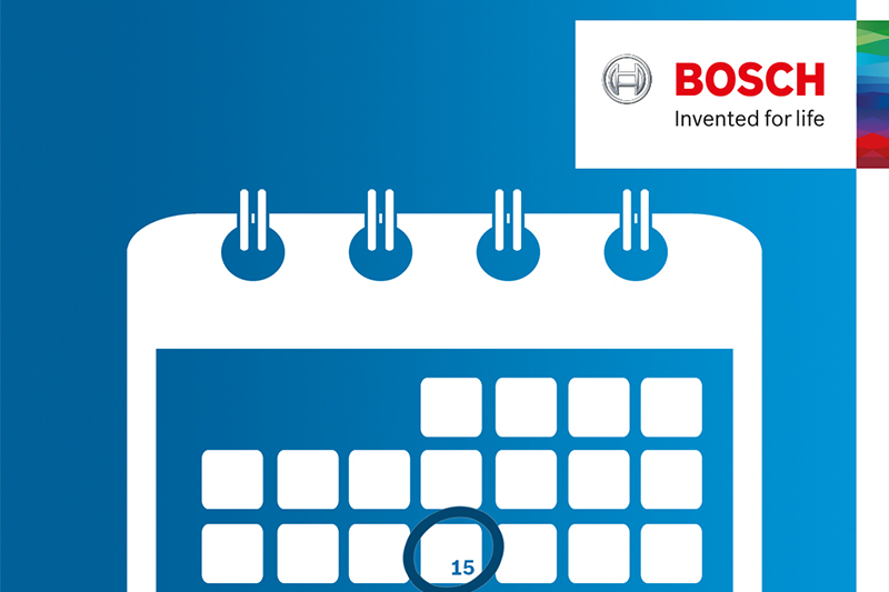 Bosch Commercial launches new online booking system