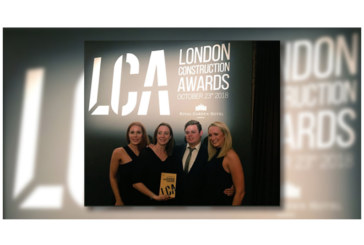 Considerate Constructors Scheme wins industry award