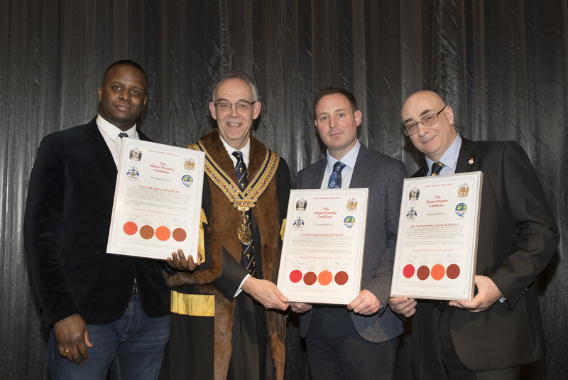 CIPHE recognises Master Plumbers
