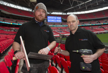 Win advertising at Wembley with Checkatrade