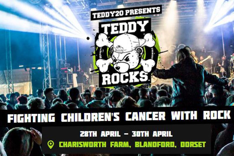 Checkatrade rocks out with the Teddy Rocks Festival