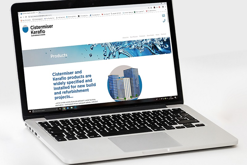 Cistermiser and Keraflo launch joint website