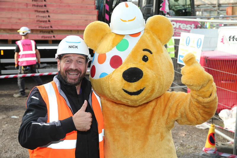 DIY SOS BBC Children in Need special heads to Lancashire