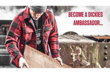 Dickies Workwear launches Ambassadors programme
