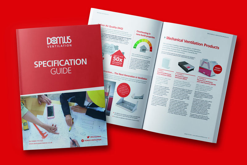 Domus Ventilation launches Specification Guide