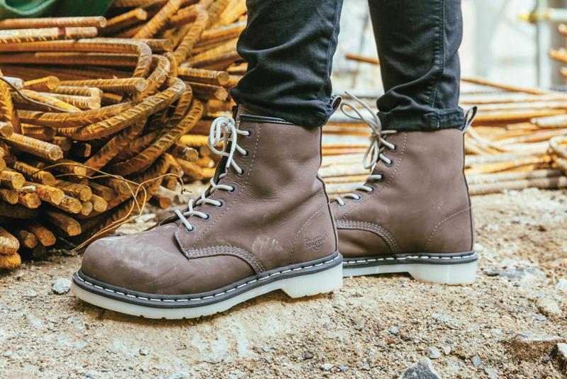 Footwear for tradeswomen