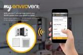 EnviroVent extends app across MVHR range