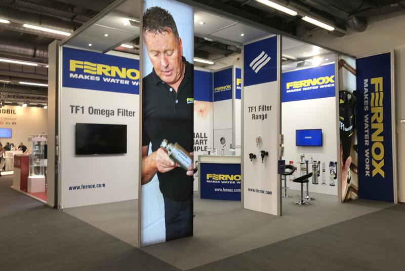 Fernox exhibits success at ISH