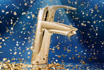 Go for gold with Grohe
