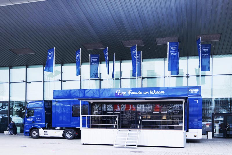 Grohe's XXL Truck Tour returns to the UK