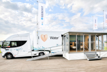 Geberit AquaClean goes on tour