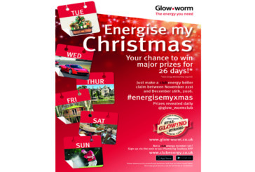 Energise your Christmas with Glow-worm
