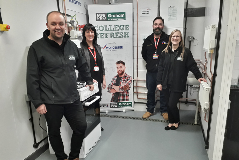 Graham provides refresh to City College Norwich's training facilities
