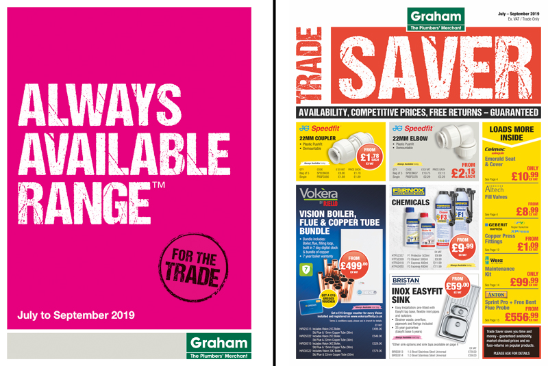 Graham's Trade Saver and Always Available Range update