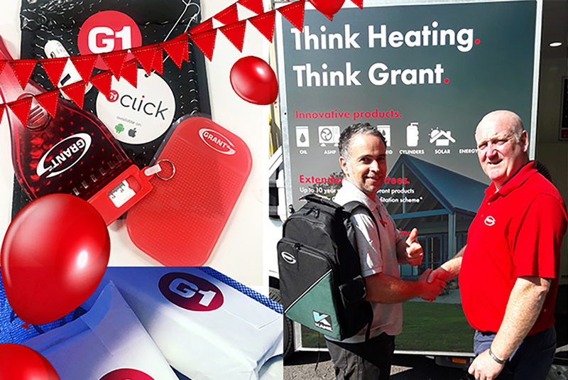 Grant UK gives away over 3,000 prizes to installers