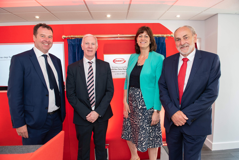 Grant UK unveils showroom and meeting suites