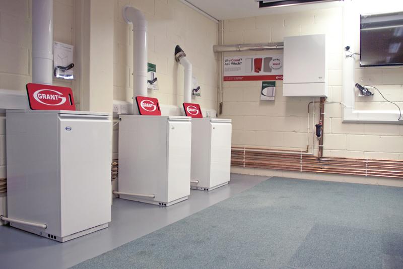 Grant UK supplies boilers to YTIC